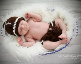 Baby Photo Prop - Newborn Photo Props - Newborn Photo Prop - Photography Prop - Baby Football Outfit - Sports Baby Shower