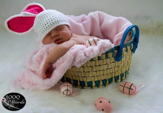 Baby Rabbit Hat Newborn To 24 months