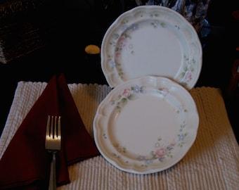 Vintage Plates Pfaltzgraff Tea Rose