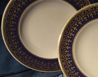 Vintage  Blue China Mini Plates