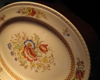 VINTAGE PLATER / English Crown Ducal Peover