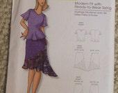 Butterick B0451skirt and blouse pattern Size Xxsm-Sm-Med-Lrg-Xlg