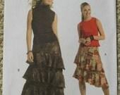 Butterick  B4938  Skirts Pattern Sizes 6-8-10-12