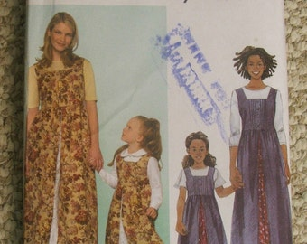 Simplicity 9402 Childs and Misses Jumper pattern