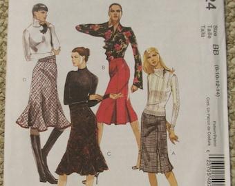 McCalls 4924  Skirts  sizes 8-10-12-14