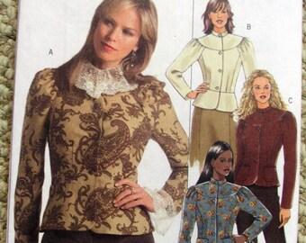 Butterick  B4864 Blouse Pattern Victorian / Edwardian styling sizes 6-12