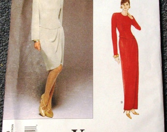 Tom and Linda Platt Vogue Dress Pattern 1708 size 12-14-16 OOP