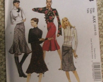 McCalls 4924  Skirts  sizes 4-6-8-10