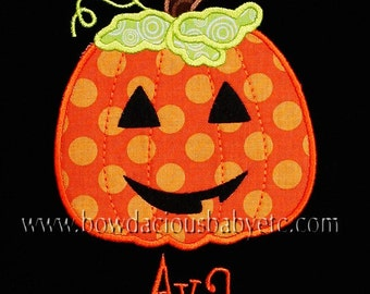 Halloween Shirt, Personalized Jack o Lantern Shirt, Halloween Pumpkin Shirt, Girls Halloween Shirt, Boys Halloween Shirt, Jack O Lantern