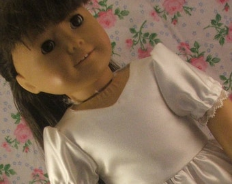 White Easter Dress for American Girl
