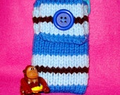 Roxanne's Striped Phone Sweater
