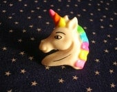 Unicorn Power Ring, adjustable, colorful, unicorn, ring, rainbow, white, pink, green, blue, purple, yellow