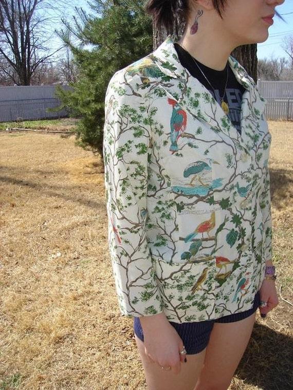 Birds of a Feather Spring Blazer  Size 12