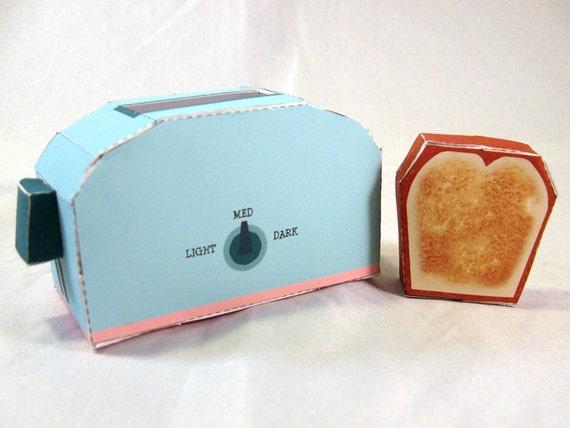 DIY Paper Toaster