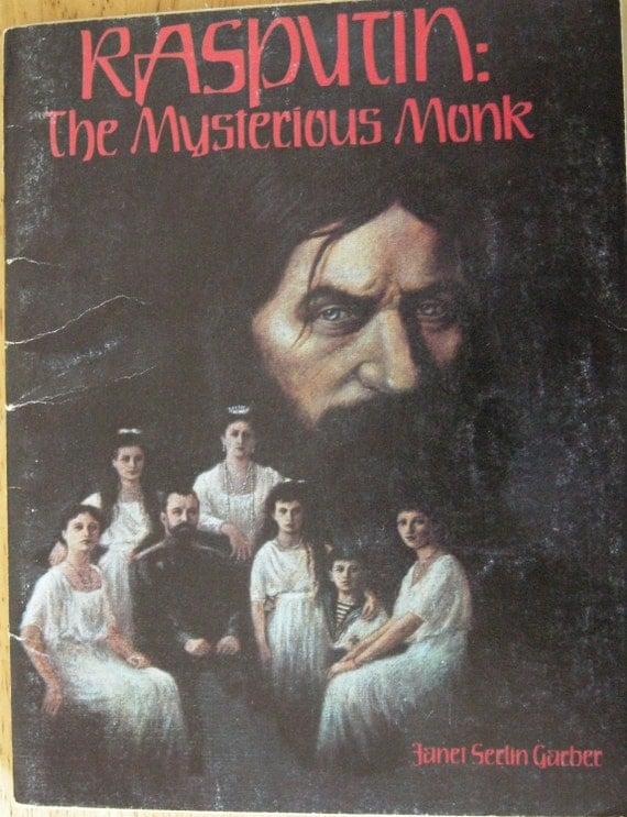 Creepy Vintage Children's Book-Rasputin the Mysterious Monk-1981