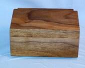 Wooden Solid Walnut Jewelry Box