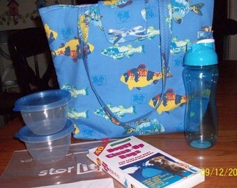 Tropical Fish Doggie Travel Bag