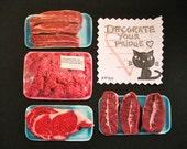 Meat Lovers Magnet set
