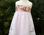 Just in time for Spring - Heirloom Style Party Dress - Size 3T - FREE SHIPPING