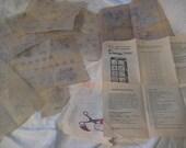 Needlecraft service Design 7300 embroidered bedspread transfer pattern circa 1975