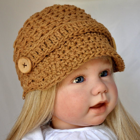 Cotton News Boy Hat in size  6 to 12 months