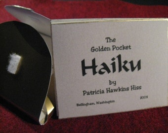 027 The Golden Pocket limited edition autographed HAIKU