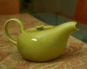 Russel Wright American Modern  - Teapot - Chartreuse Yellow