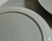 Russel Wright American Modern - Dinner Plates - Gray (4)