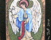 Angel family Christmas gift St Gabriel ARCHANGEL SAINT GABRIEL