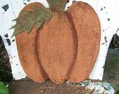 Primitive Folk Art Pumpkin Squash Hangers, Door Dolls, Prop Up Squash - Fall Harvest E Pattern