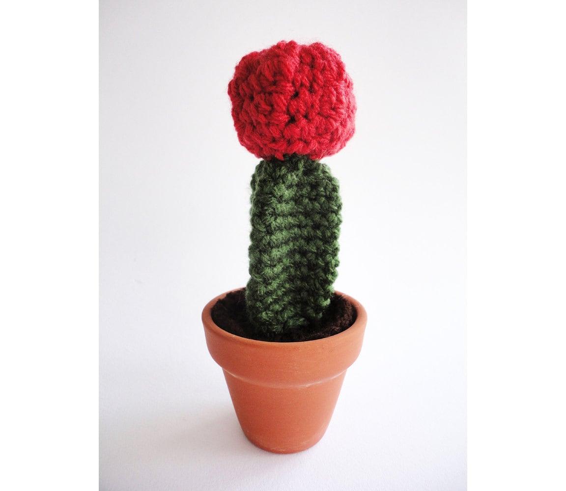 Tecnica Amigurumi Cactus : Crocheted Cactus Amigurumi Plant
