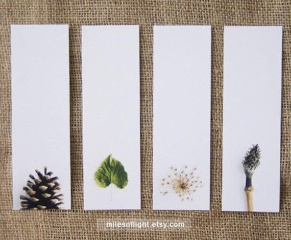 Bookmarks Set - Natural Series II