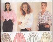 Simplicity 8620 Plus size blouse pattern