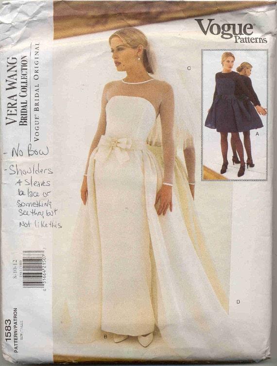 Wedding Dress Patterns By Vogue