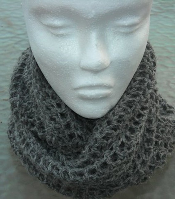 Alpaca cowl/eternity scarf