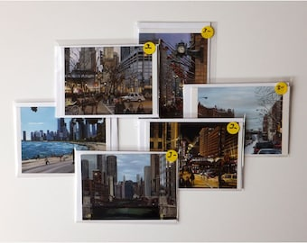 Chicago Greeting Cards Variety Pack of 6 Note Cards