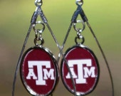 Texas A and M Aggies Earrings