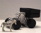 Mini-Zebra Truck with Zebra