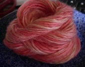 Coral Reef Bamboo Handspun Yarn - 28 yards