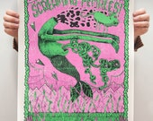 Gig Poster for Screaming Females at SPACE Gallery in Portland, ME