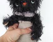 black mohair bear