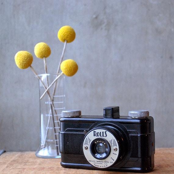 Reserved for Mark -- Vintage Bakelite Camera - Rolls Camera Mfg. Co. Chicago, Illinois Photo Master