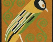 Klimt Bird - Instant Download - Cross Stitch Pattern PDF