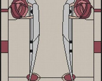 Mackintosh's Ladies - Instant Download - Cross Stitch Pattern PDF