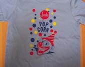 popcorn clown shirt (KIDS) 2, 4, 6, 8, 10, 12