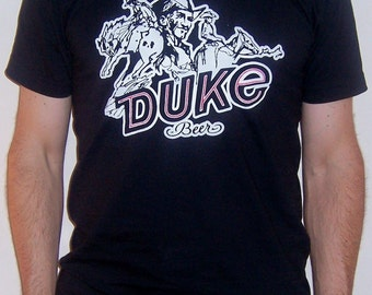 Duke Beer shirt  (men) small, medium, large, xl, 2xl