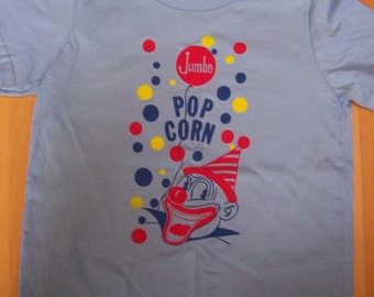 popcorn clown shirt (KIDS) 2, 4, 6, 8, 10, 12