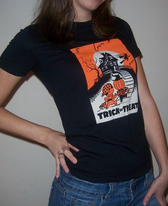 trick or treat shirt (women) small, medium, large, xl