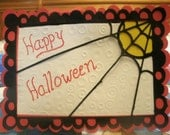 Special Discount On This Cute Happy Halloween Greeting Card