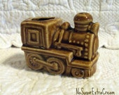 Train Toothpick Holder - Made in Japan - Vintage Kitsch